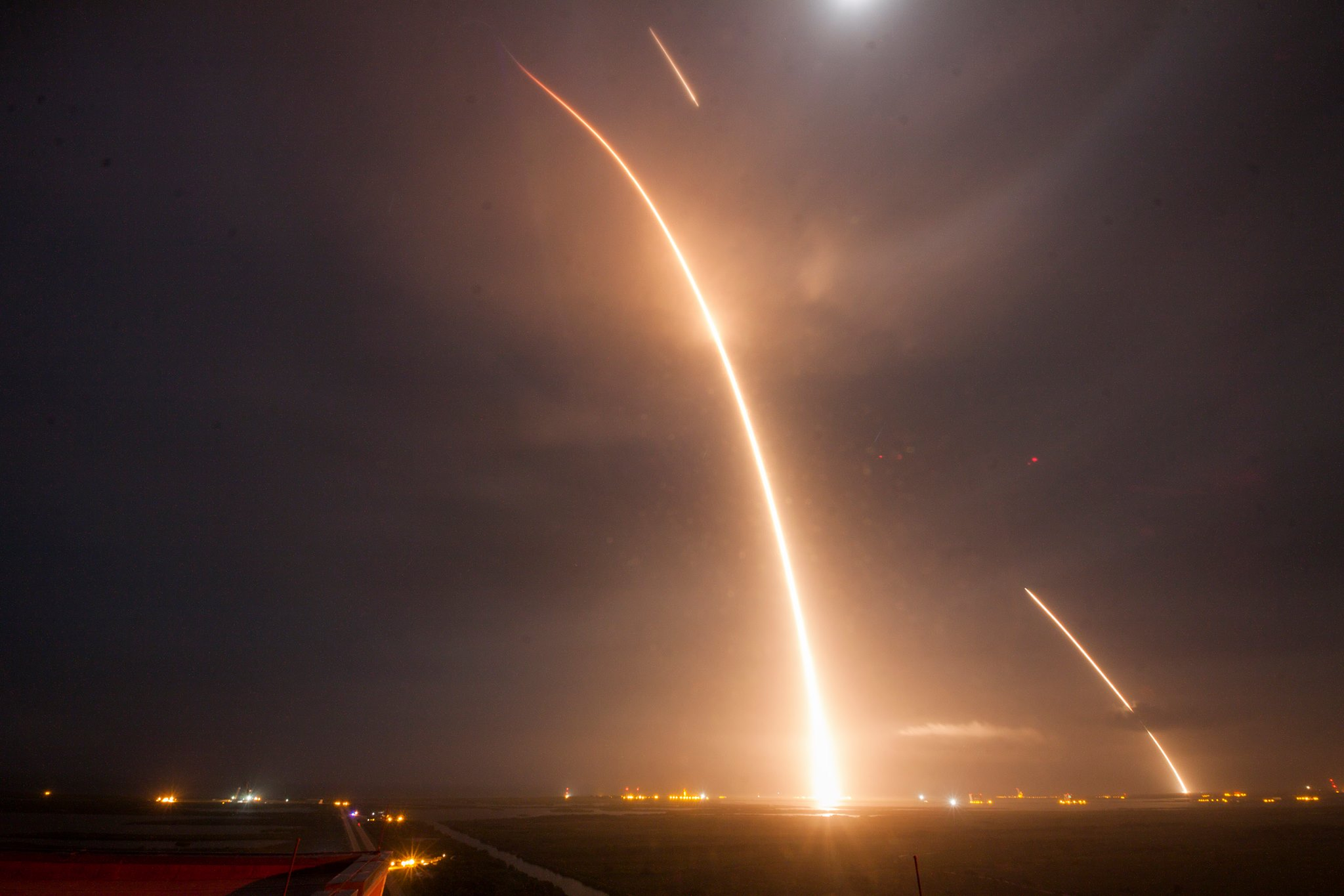 SpaceX Lands Rocket